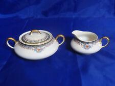 Antique Macy's Limoges France by B&Co L. Bernardaud Creamer & Sugar Bowl Set