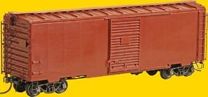 Kadee ~ HO scale #4101 ~ Undecorated 40' PS-1 Boxcar Kit ~ 7' Youngstown Door