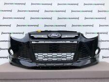Ford Focus Zetec S 2011-2014 pare-chocs avant en véritable Noir [F290]