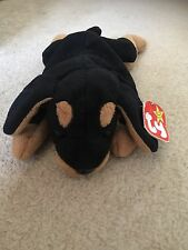 Ty Original Retired Beanie babies collections Doby the Dog, made in Indonesia