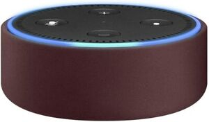 Amazon Echo Dot CASE ONLY (fits Echo Dot 2nd Generation only) - Merlot Leather