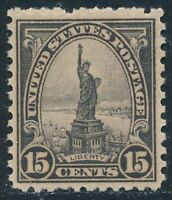 SCOTT # 696  - SINGLE 15 CENT LIBERTY STAMP -  UNUSED - OG - NH - MINT CONDITION