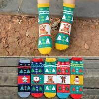 Cartoon Christmas Socks Women Girls Soft Cotton Warm Winter Xmas Funny Socks AU