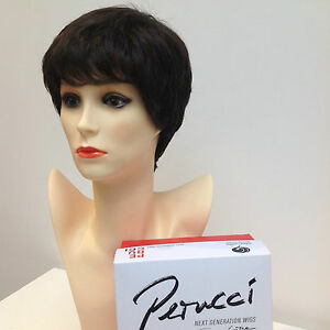 Ellen Wille Perucci Tab Espresso Mix Ladies Wig