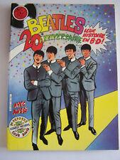 BD EXCEPTIONNEL THE BEATLES 20 ème ANNIVERSAIRE . MARVEL .TRES RARE . 1979 .