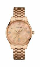 Bulova Gold Plated Case Not Water Resistant Wristwatches