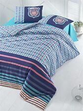 Sinlge Luxury Bedding Set 2 Piece Linen College Duvet Cover Shield Boys Teens