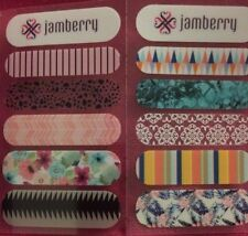 Jamberry Nail Wraps Sample Sheets Spring/Summer 2016 RETIRED DESIGNS!!!!