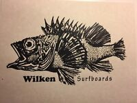 "Wilken Surfboards""fish Print ""1960-90 Santa Monica Surf(jacobs,velzy,Webber Bing"