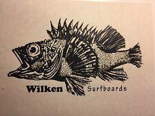 "Wilken Surfboards""fish Print ""1960-90 Santa Monica Surf(jacobs,velzy,Webber Bing"