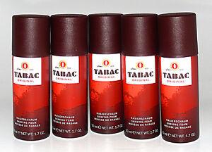 Tabac Original Rasierschaum 5x50ml=250ml (GP=6,78€/100ml)