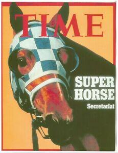 "1973 - June 11th - Time Magazine - SECRETARIAT Cover Photo - 8"" x 10"""