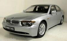 Kyosho 1/18 Scale 08571S BMW 745i Silver diecast model car
