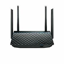 ASUS Dual-Band 2x2 AC1300 Super-Fast WiFi 4-Port Gigabit Router with MU-MIMO ...