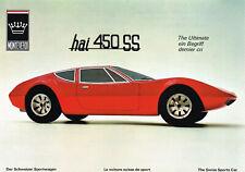 Monteverdi Hai 450 SS Prospekt, 1970