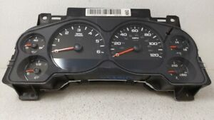 2007-2009 Gmc Sierra 1500 Speedometer Instrument Cluster Gauges 92485