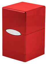 Ultra Pro 330574 Deckbox Satin Tower C6 Card Game Red