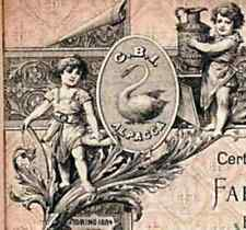 1933 FABBRICA DI POSATERIE D'ARGENTO E ALPACCA * IZAR * AZIONE STORICA DOC
