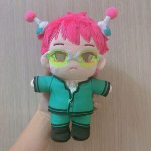 The Disastrous Life of Saiki K Saiki Kusuo Plush Toy 20cm Stuffed Doll +Clothes