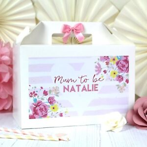 PERSONALISED GIFT BOX | BABY SHOWER SPRINKLE | MUM TO BE PARTY FAVOUR BAG