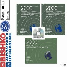 Oem Shop Manual Cd Ford Truck Excursion/F250-F550/Motor home 2000