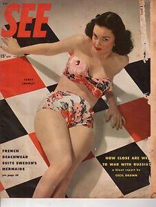 1948 SEE September - Berlin spy center; Bikinis come to Sweden; Sex education