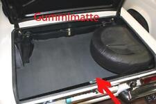 B- Graue Gummimatte Trunk mat Matte für Mercedes w113 Pagoda Kofferraum