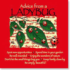 "LEANIN TREE ""Advice From A Ladybug"" #26333 Magnet ~ Spot New Opportunities ~"