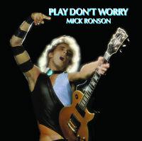 Mick Ronson - Play Don't Worry [New Vinyl LP] Blue, Colored Vinyl, White