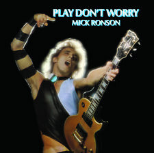 Mick Ronson - Play Don't Worry [New Vinyl LP] Blue, Colored Vinyl, White