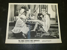 THE THREE STOOGES MEET HERCULES, orig b/w [Larry gives a pedicure] - 1961
