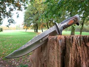 PREMIUM Jagdmesser Messer Bowie Buschmesser Taschenmesser Outdoor Angeln