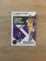2019-20 Panini NBA Chronicles LeBron James