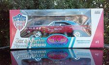 ERTL 1/18 SUPERCAR COLLECTIBLES SOX & MARTIN 1970 PLYMOUTH SUPERBIRD DIECAST