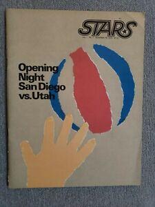 November 19 1975 ABA Utah Stars v San Diego Sails Excellent Condition
