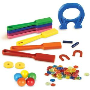 Super Magnet Lab Kit by Learning Resources - Childrens Magnetic Wand Science Set