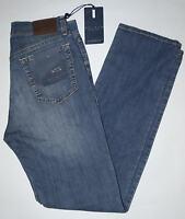 Jeans uomo Taglia 46 48 50 52 54 56 58 60 HOLIDAY strech tela leggera ORGHING
