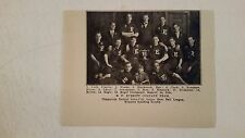 B.F. Everitt Company Detroit Inter-City 1911 Indoor Baseball Team Picture