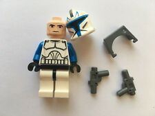 STAR WARS LEGO MINI FIGURE AUTHENTIC CAPTAIN REX CLONE WAR VISOR BLASTERS AT-TE@