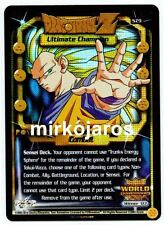 ULTIMATE CHAMPION [Near Mint] SZ9 Uber World Championship Dragon Ball Z Ccg Dbz