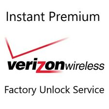 USA Verizon Premium Instant Factory Unlock Service For All iPhone iPad