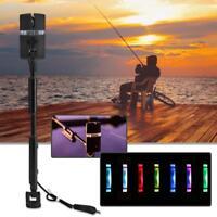 1/4pcs Carp Fishing Alarm Swingers Hangers 7Color LED Illuminated Bite Indicator