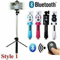 Universal Bluetooth Selfie Stick Tripod Extendable Remote Camera Shutter Phone