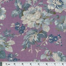 Windham Fabrics 40826-3 Chambray Rose Large Lavender Floral Priced Per ½ Yard