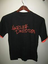 Harley Davidson 1993 Daytona Beach Florida USA Bike Week Wham Neon T Shirt Med