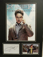 JAMES MCAVOY Signed 16x12 Photo Display X-MEN FIRST CLASS Charles Xavier COA