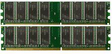 2GB (2x1GB) DDR PC3200 (NON-ECC) RAM for Gateway 838GM Media Center