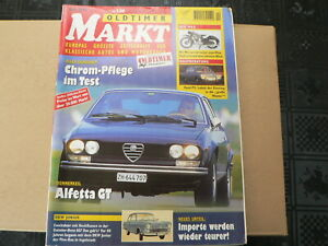 MARKT 1999 NO 4 NSU MAX,ALFETTA GT,DKW JUNIOR,FORD P5,MEIER BMW,AC ACE,YAMAHA