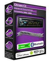 CITROEN C3 DAB Radio , Pioneer CD stéréo usb auxiliaire lecteur,