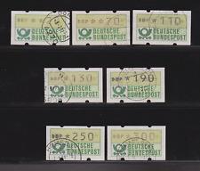 Diverse Philatelie Bund Lot Atm 2002 Briefkasten Gestempelt Auf Papier Automatenbriefmarken